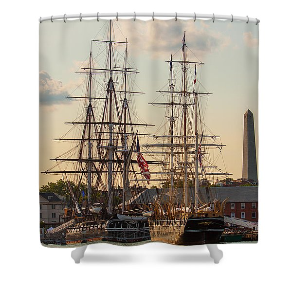 American History Shower Curtain