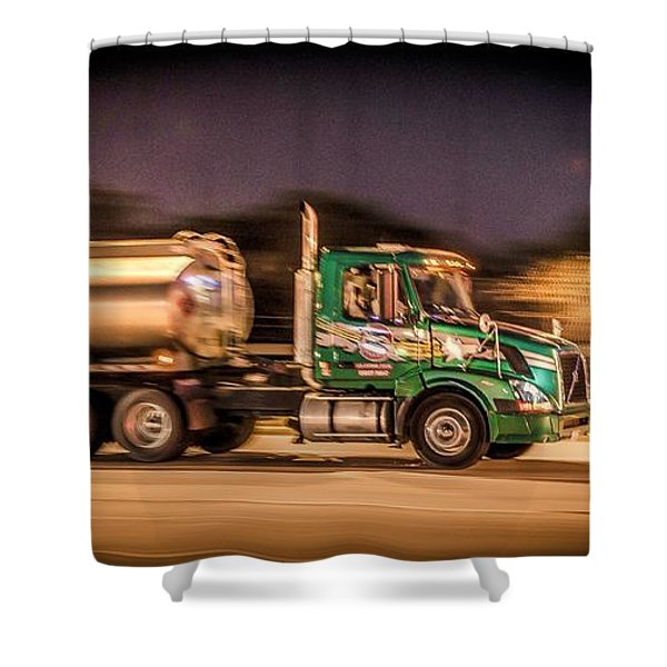 American Truckin' Shower Curtain