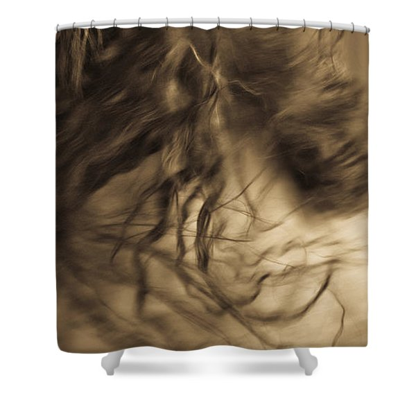 Shower Curtain featuring the photograph Americano 15 by Catherine Sobredo