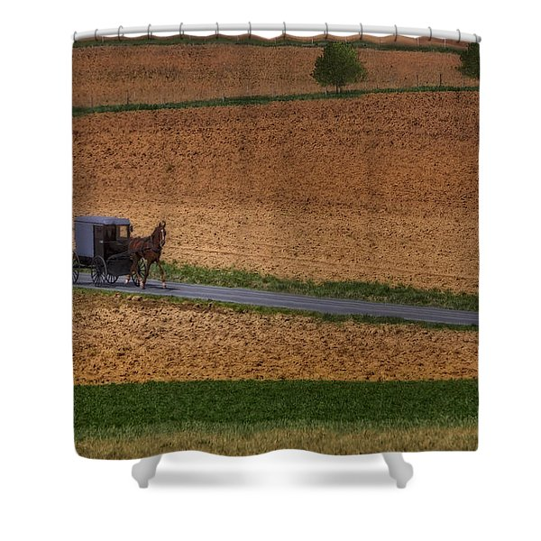 Amish Country Lancaster Pennsylvania Shower Curtain