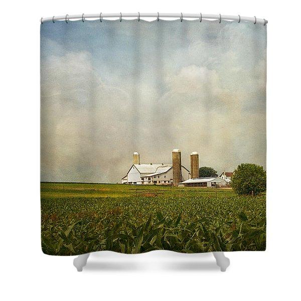 Amish Farmland Shower Curtain