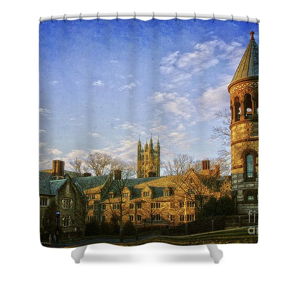 An Afternoon At Princeton Shower Curtain
