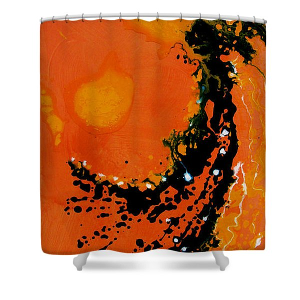 An Angel Breathing Love Into Life Shower Curtain