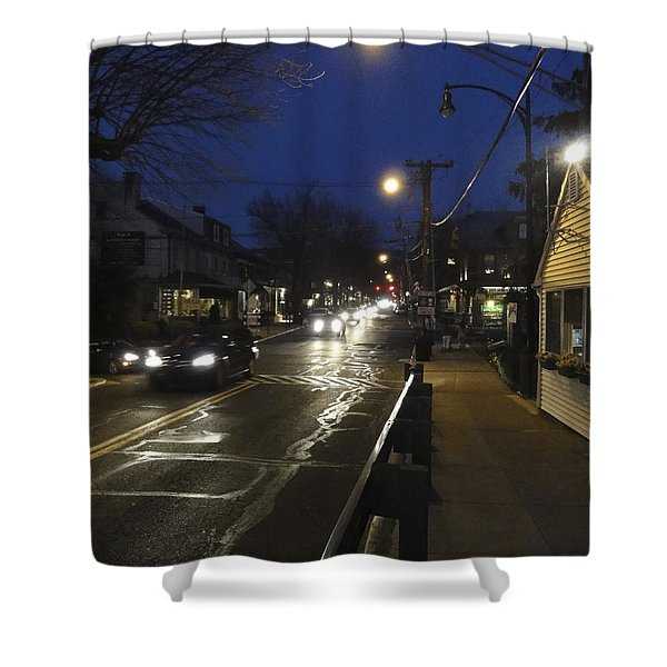 An Evening For Robert Beck Shower Curtain