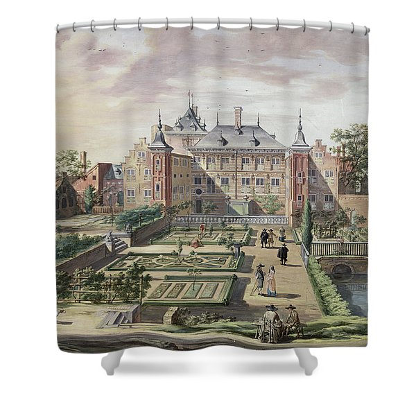 An Imaginary View Of Het Tolhuis Shower Curtain