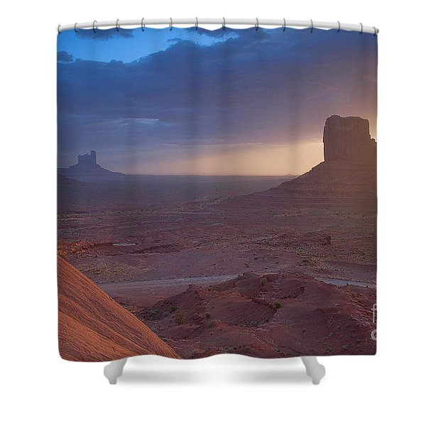 An Open Invitation Shower Curtain