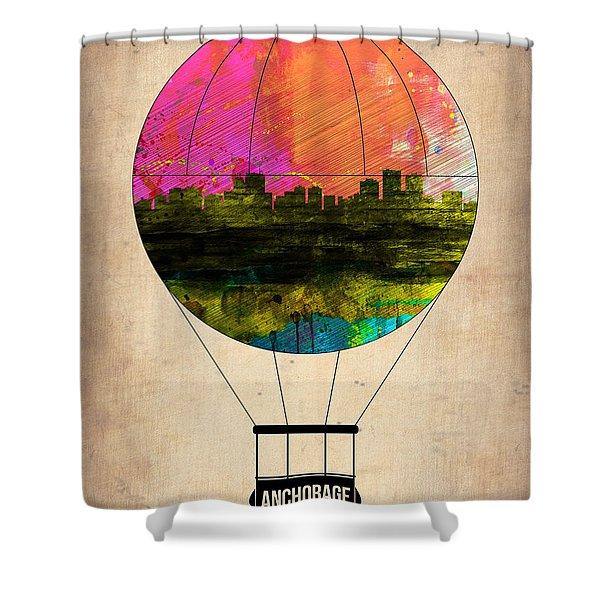 Anchorage Air Balloon  Shower Curtain