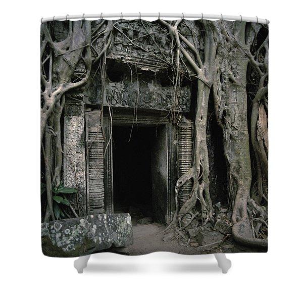 Ancient Angkor Shower Curtain