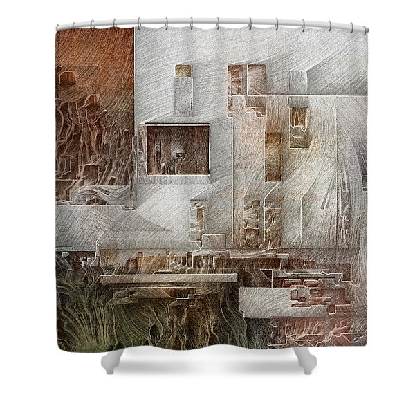 Ancient City 1 Shower Curtain