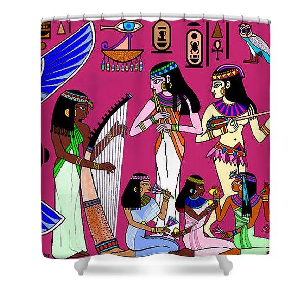 Ancient Egypt Splendor Shower Curtain