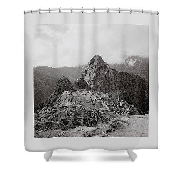 Ancient Machu Picchu Shower Curtain