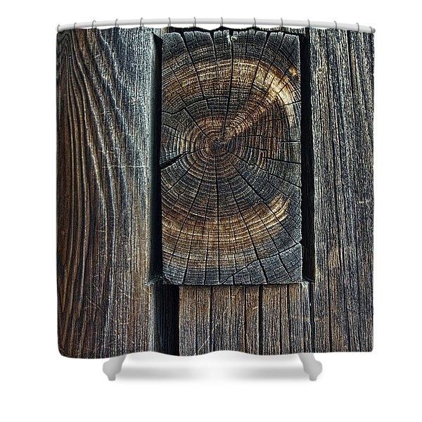 Ancient Mortise And Tenon Joint - Japan Shower Curtain