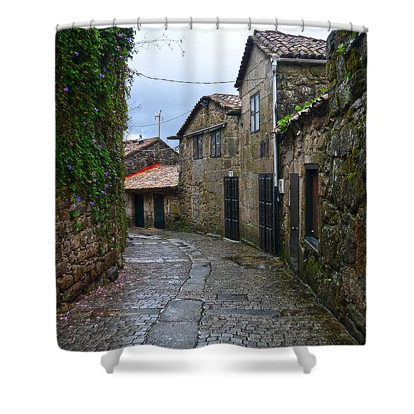 Ancient Street In Tui Shower Curtain