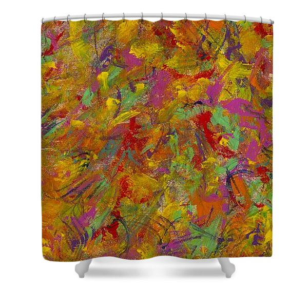 Ancient Whisper Shower Curtain
