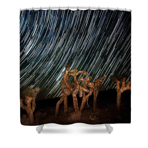 And They Danced Shower Curtain