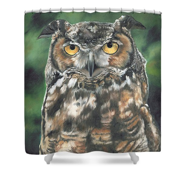 And You Were Saying Shower Curtain