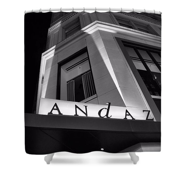 Andaz Hotel On 5th Avenue Shower Curtain