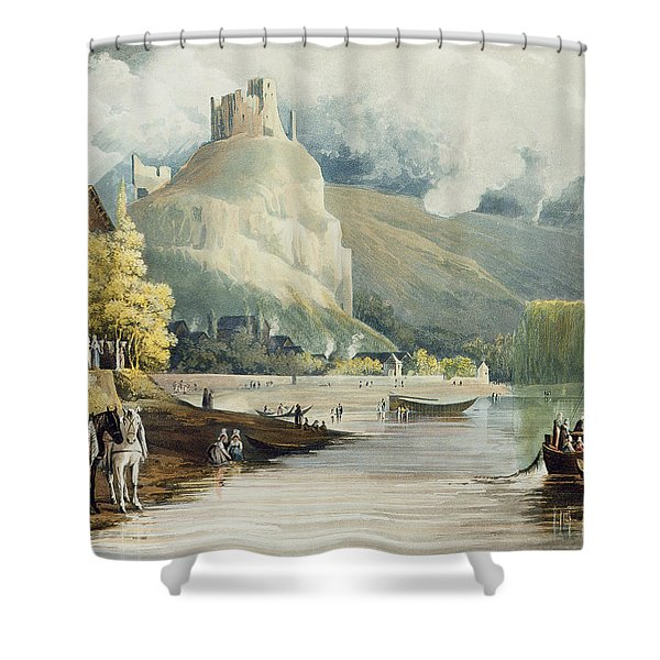 Andely, From Views On The Seine Shower Curtain