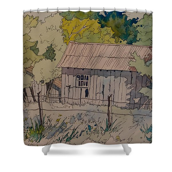 Anderson Barns Shower Curtain