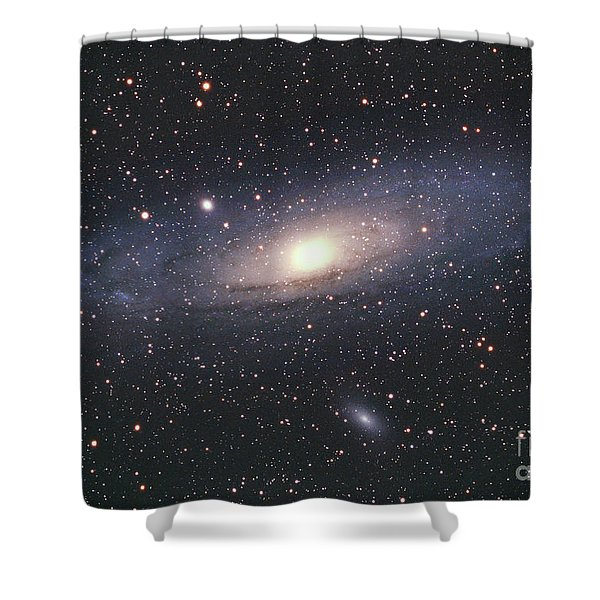 Andromeda Galaxy Shower Curtain