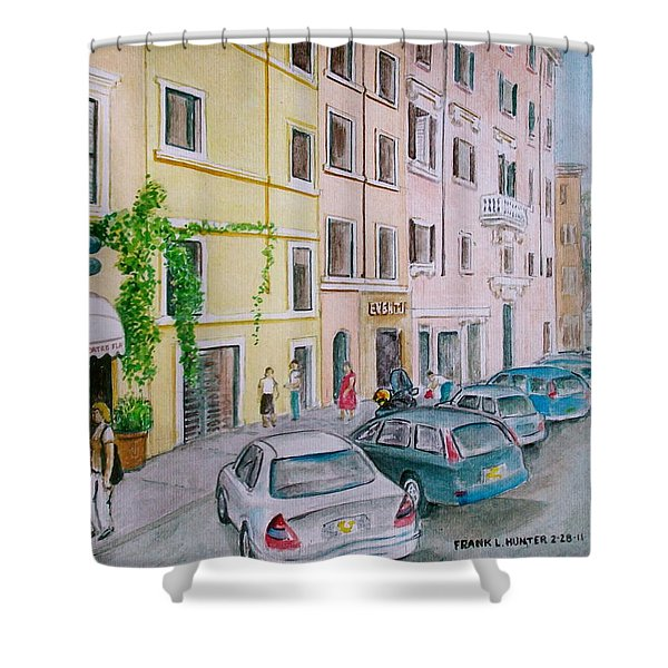 Anfiteatro Hotel Rome Italy Shower Curtain