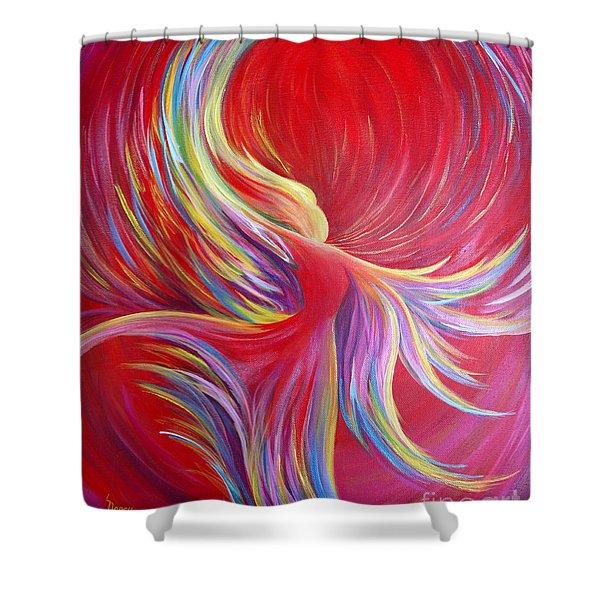 Angel Dance Shower Curtain