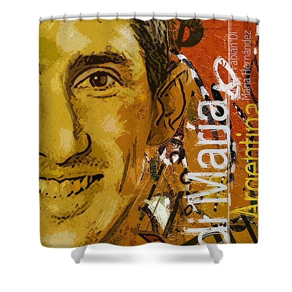 Angel Di Maria - B Shower Curtain