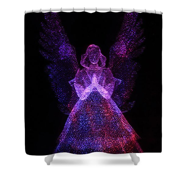 Angel Dots Shower Curtain