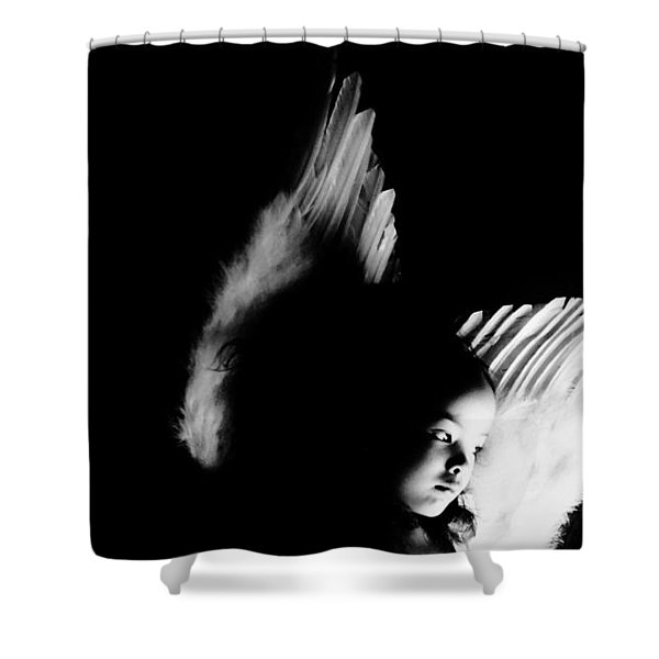 Angel Of Thought  Shower Curtain