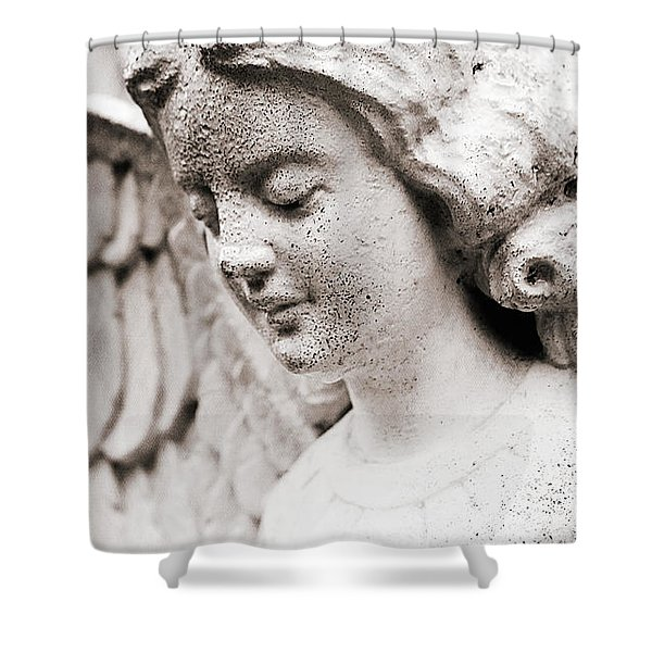Angels Prayers And Miracles Shower Curtain