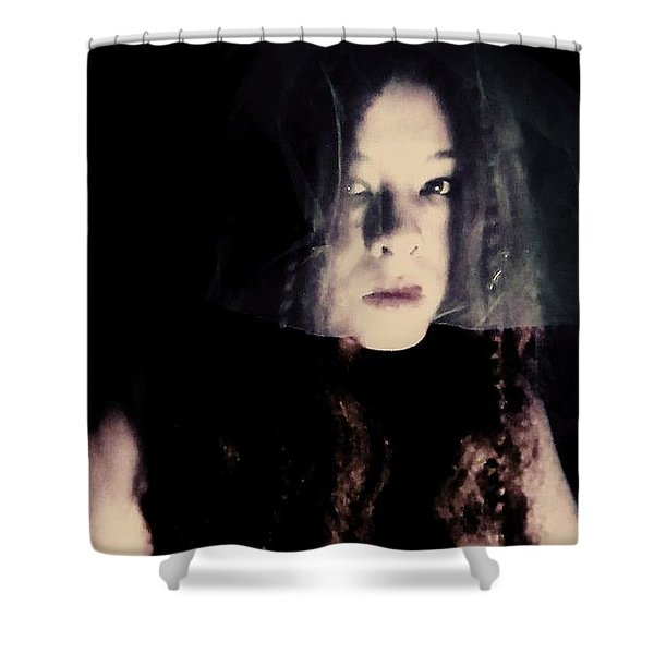 Angry With You  Shower Curtain