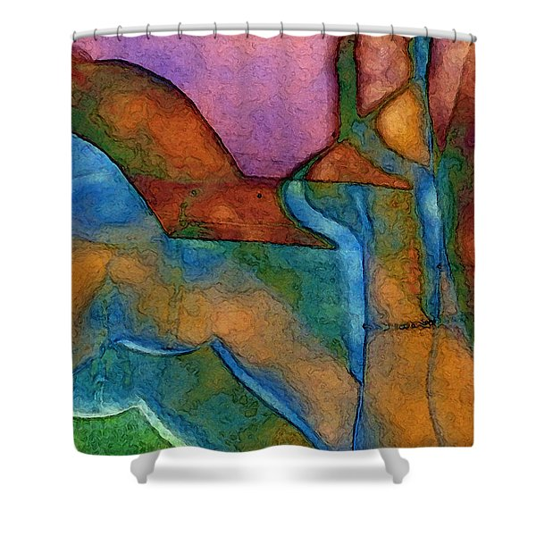 Anklet Shower Curtain