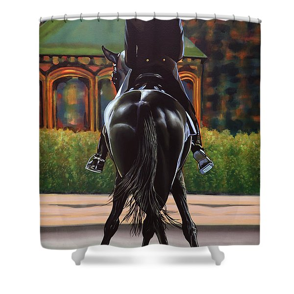 Anky Van Grunsven Salinero Shower Curtain