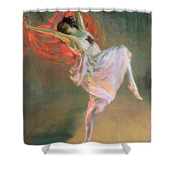 Anna Pavlova, 1910 Shower Curtain
