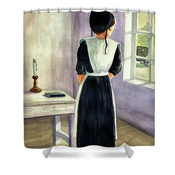 Another Way Of Life IIi Shower Curtain