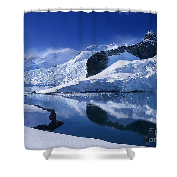 Antarctic Paradise Shower Curtain