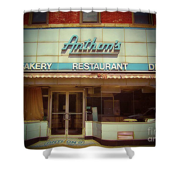 Anthon's Bakery Pittsburgh Shower Curtain