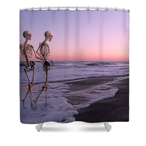 Anthropology Shared Similarities  Shower Curtain