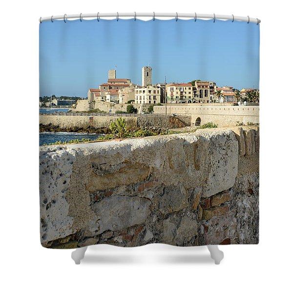 Antibes France Shower Curtain