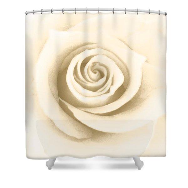 Antique Rose Shower Curtain