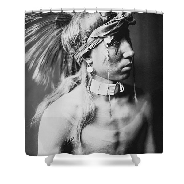 Apache Indian Circa 1905 Shower Curtain
