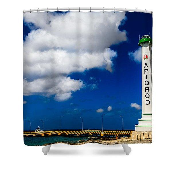 Apigroo Lighthouse Shower Curtain