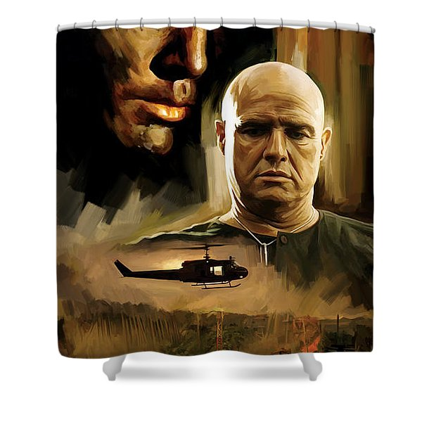 Apocalypse Now Artwork Shower Curtain
