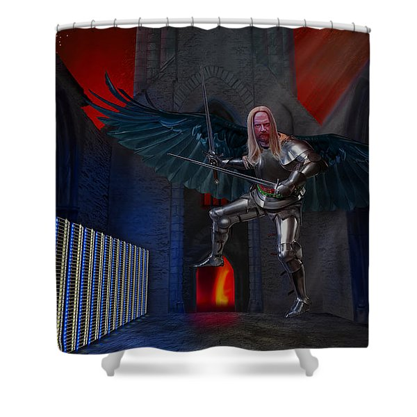 Apocalypsis Shower Curtain
