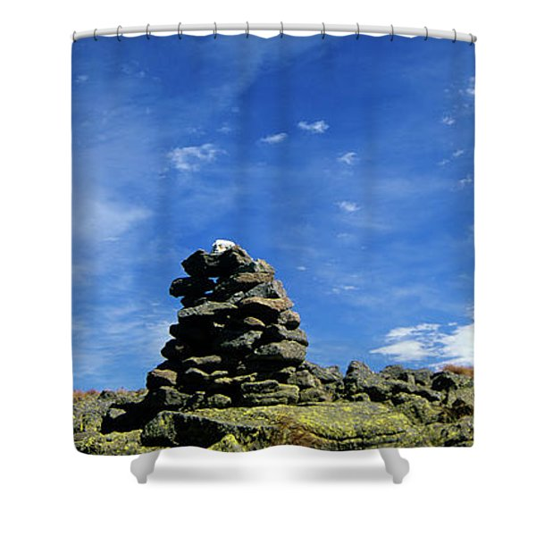 Shower Curtain featuring the photograph Appalachian Trail - White Mountains New Hampshire by Erin Paul Donovan