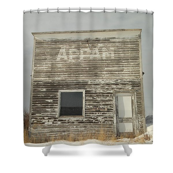 Appam State Bank In North Dakota Shower Curtain