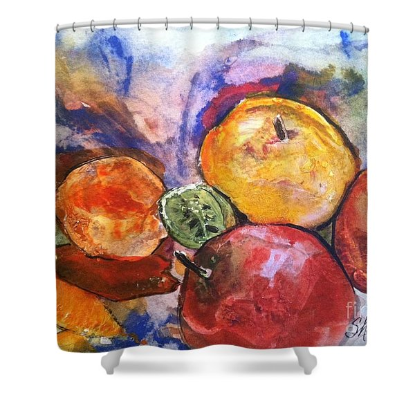 Appetite For Color Shower Curtain