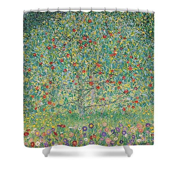 Apple Tree I Shower Curtain