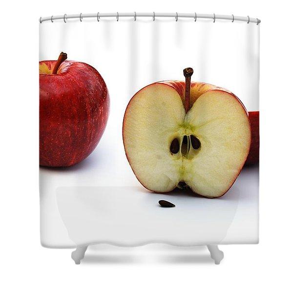 Apples Still Life Shower Curtain