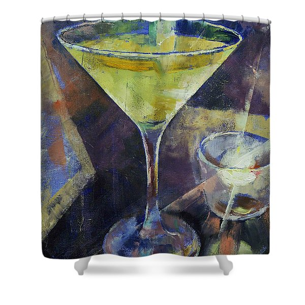 Appletini Shower Curtain
